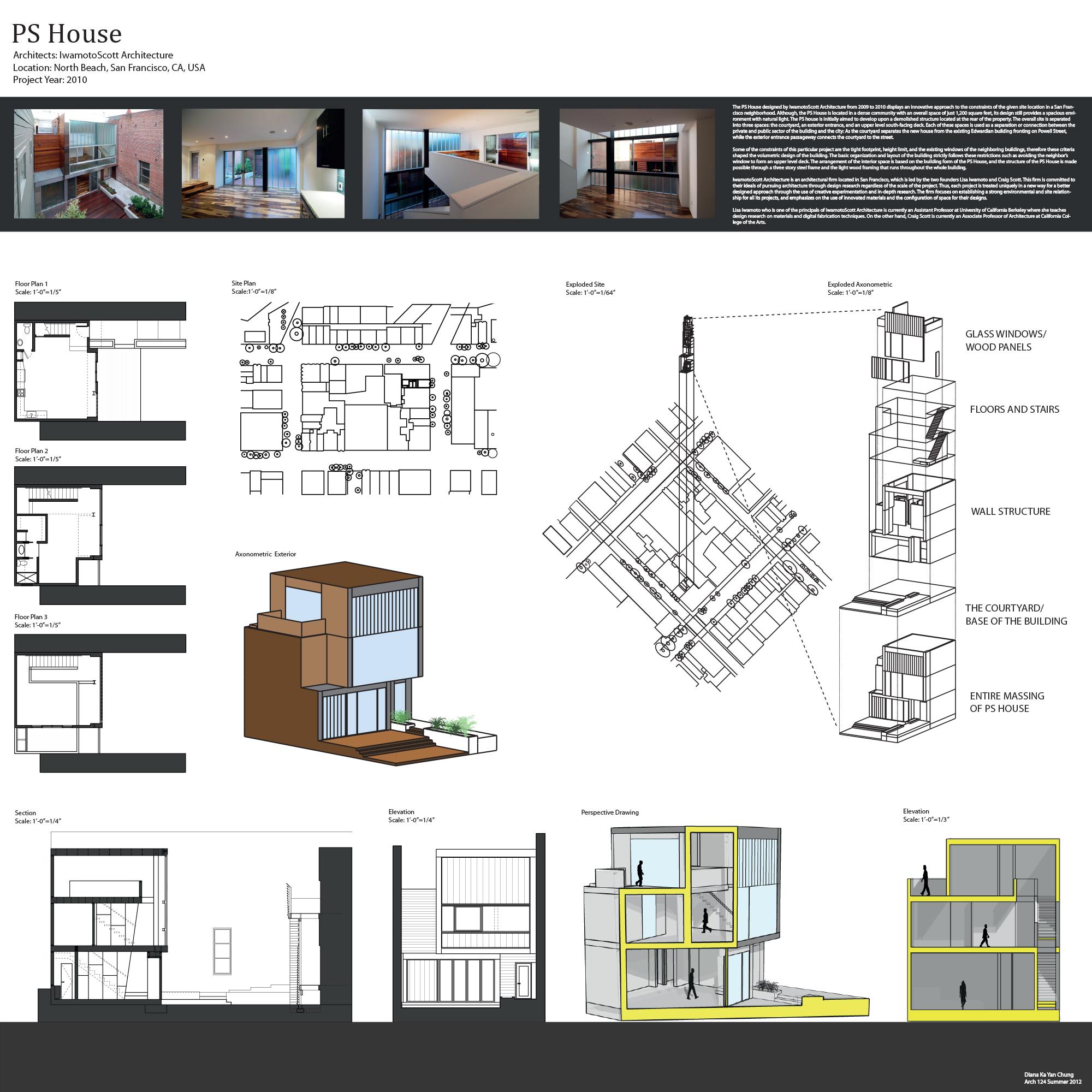 PS House, Iwamoto Scott, Diana Chung, Arch 124A, UC Berkeley