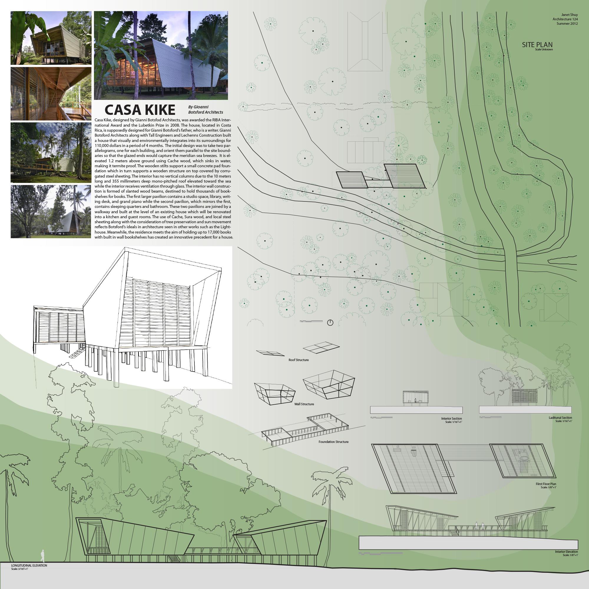 Casa Kike, Gianni Botsford Architects, Janet Shuy, Arch 124A, UC Berkeley