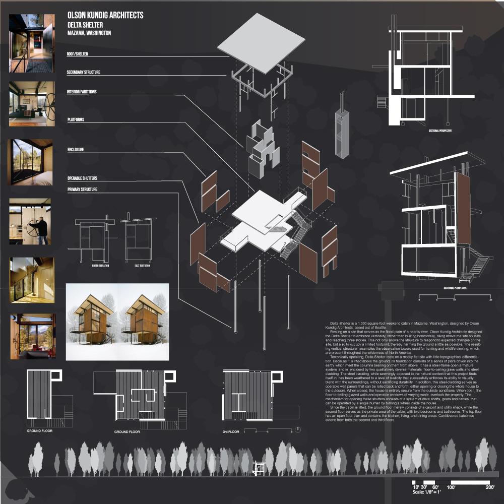 The Delta Shelter, Olson Kundig Architects, Blake Stevenson, VDM2, CCA