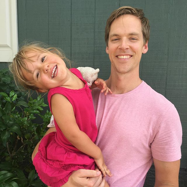 Sweet Weez turned 3 this weekend. Best 3 years of my life. And everyone had to wear pink to her party, of course.