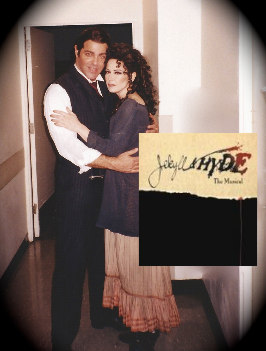"""With Chuck Wagner in """"Jekyll & Hyde"""""""