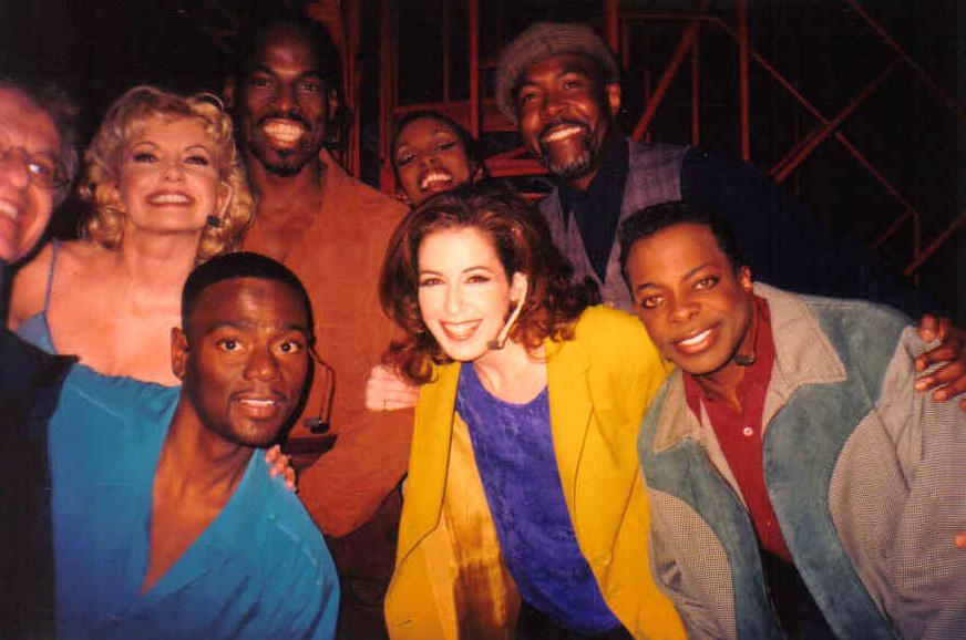 "Cast of ""Smokey Joe's Cafe"" on Broadway"