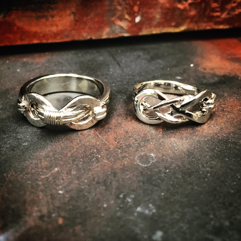 Infinity Wedding Set