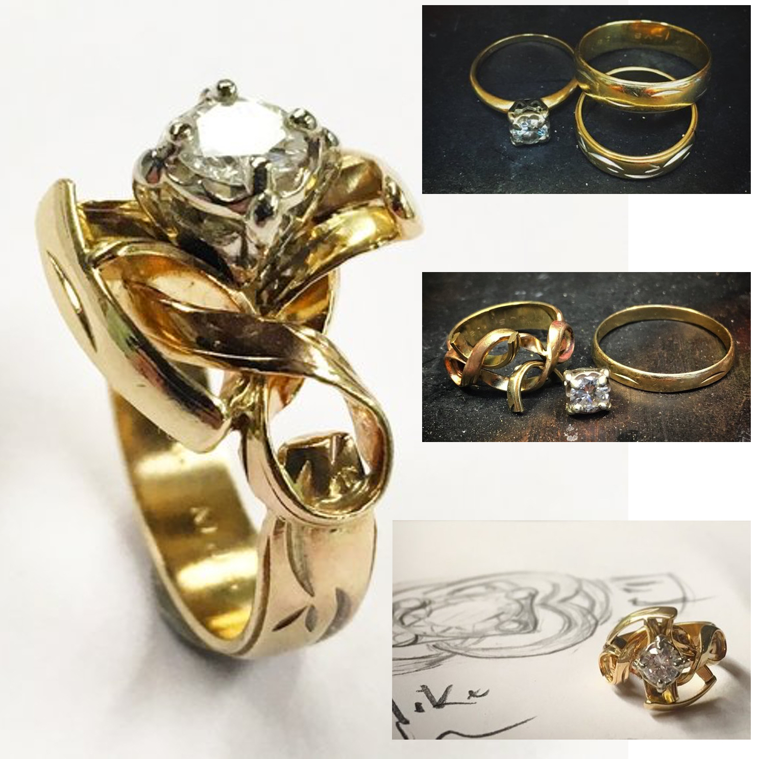 Wedding Rings Combined