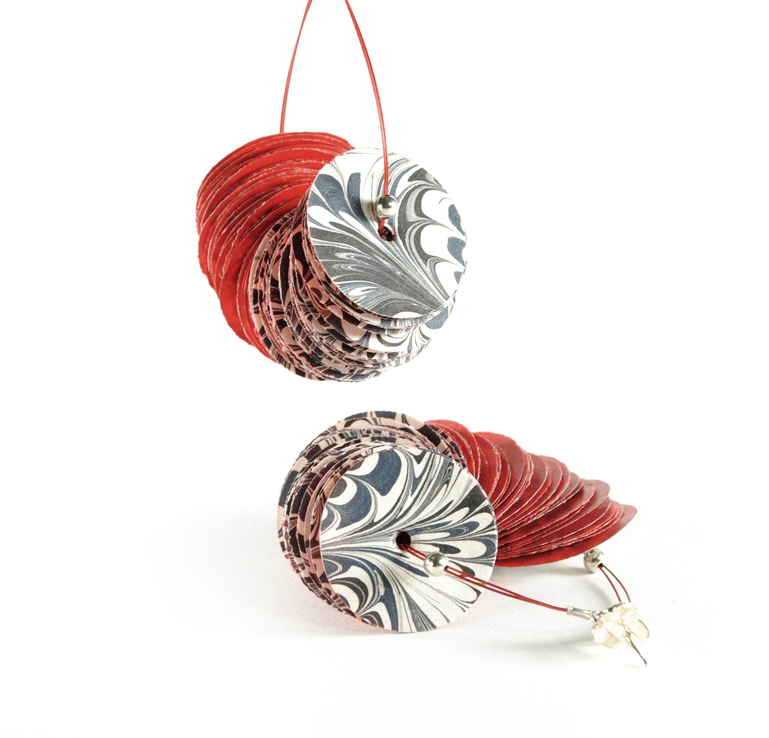 Marbleous Earrings