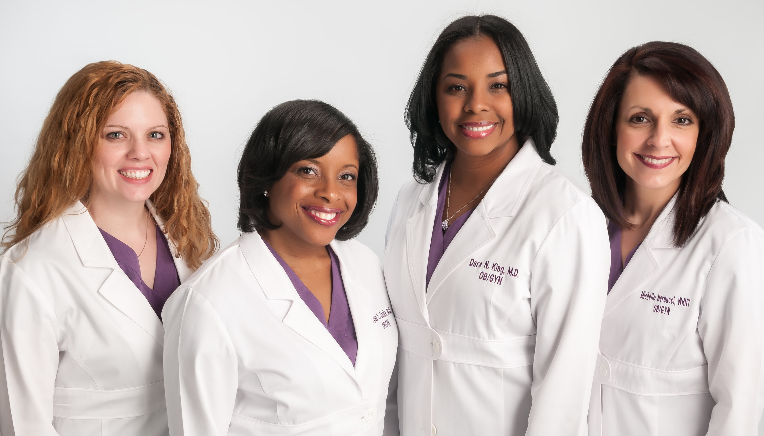 Team Photo for Womans Health Care.