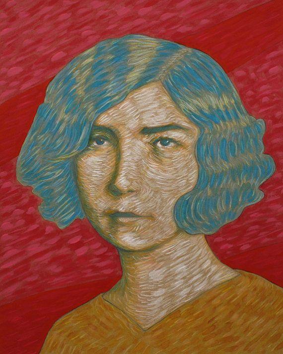 Vintage Woman Portrait  by Bret Pendlebury