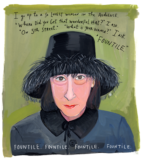 Fountile by Maira Kalman