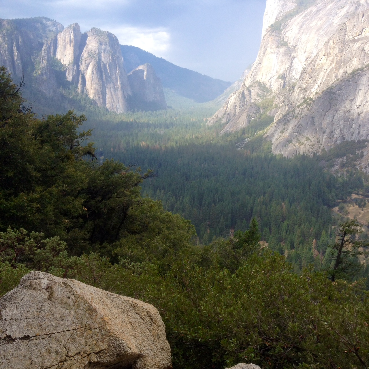 The mystical Yosemite Valley