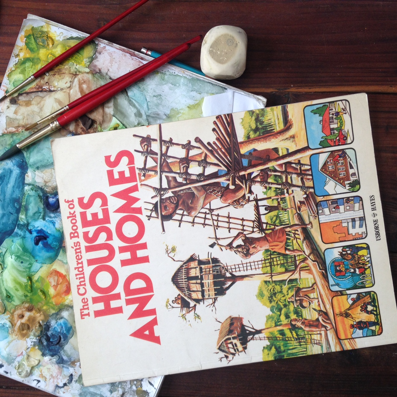 The Children's Book of Houses and Homes