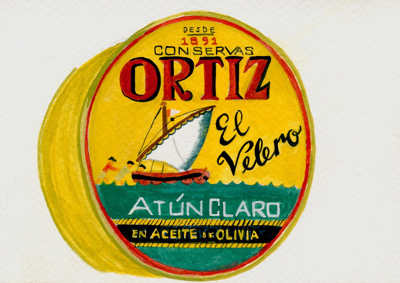 Ortiz tuna can