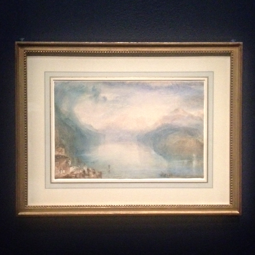 A Turner watercolor