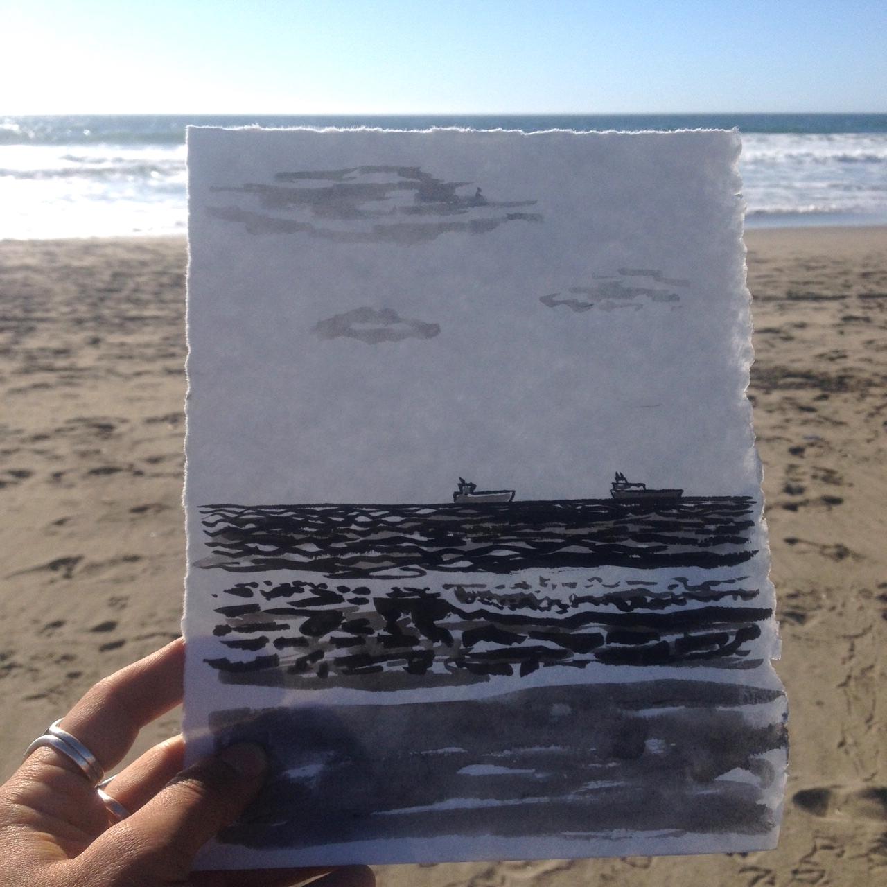 Ocean Beach sketch 2.JPG