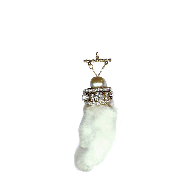 Rabbits Foot Pendant