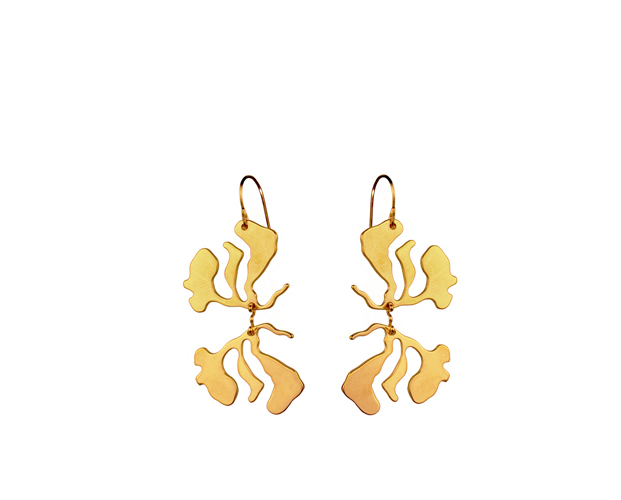 Seaweed Earrings Double #4