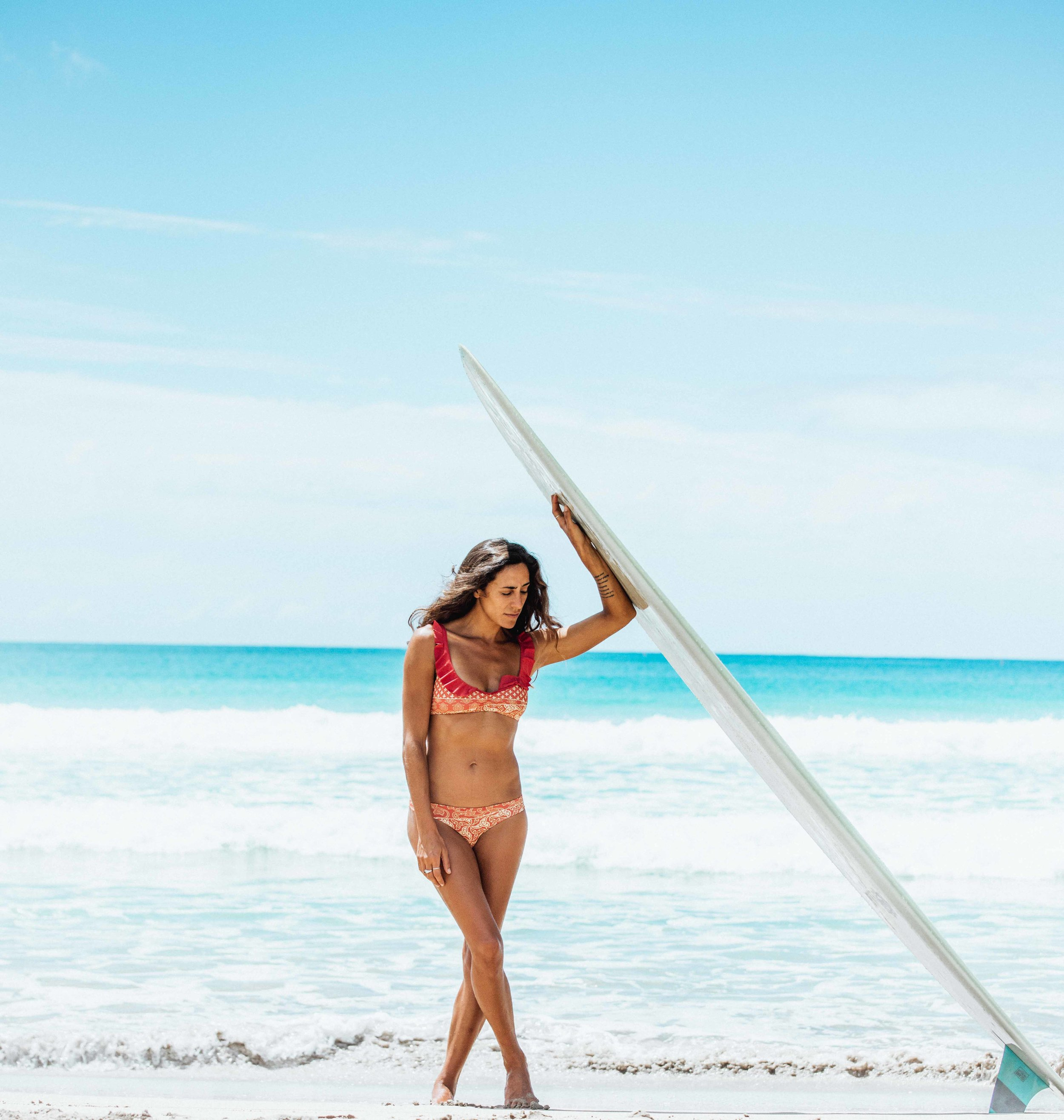 I met up with the talented Lex Weinstein at one of her favorite secret spots in Kaua'i. Check out the San Lorenzo Bikinis blog to find out how this surf goddess mixes art, farming and travel into her daily life! http://www.sanlorenzobikinis.com/blog/?p=4252