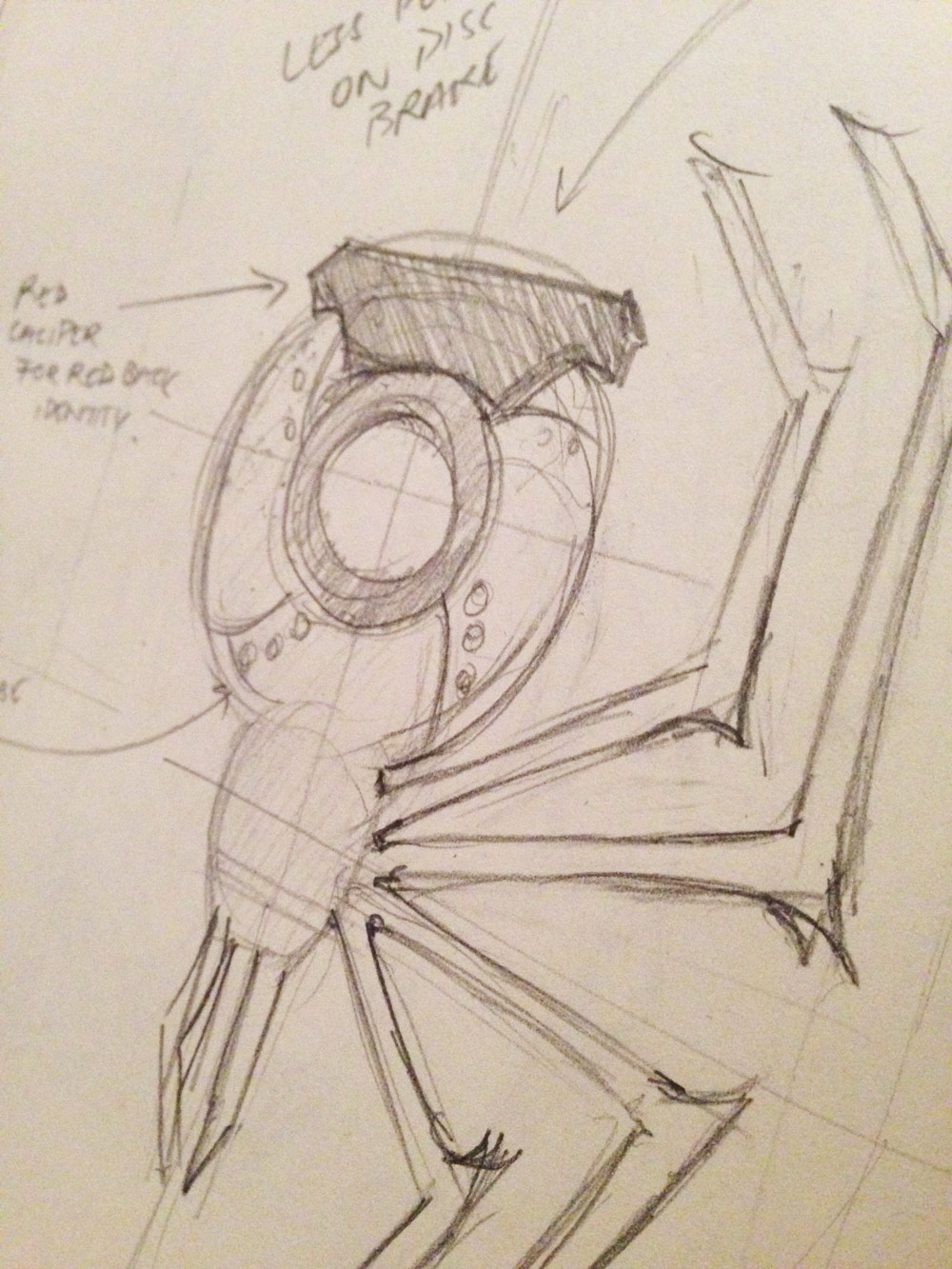 First concept sketch