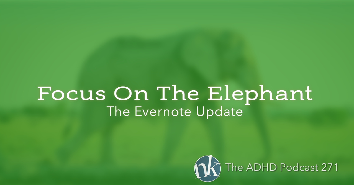 Take Control ADHD and Evernote