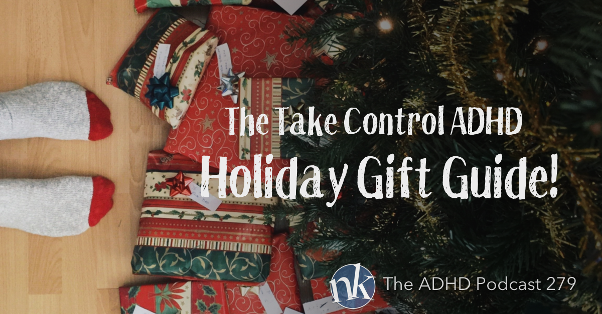 Take Control ADHD Holiday Gift Guide