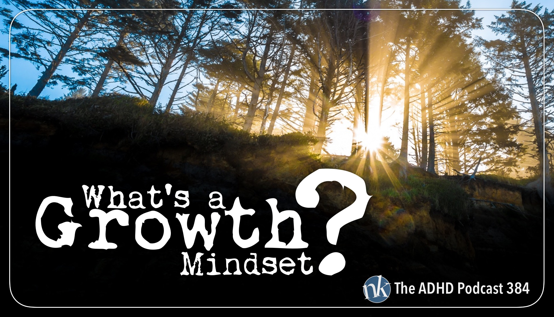 What's a growth mindset The ADHD Podcast