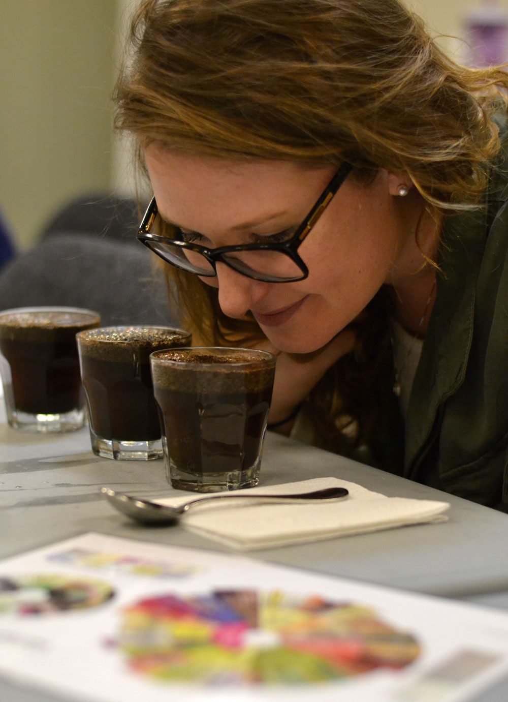 Coffee Cupping in Maryville