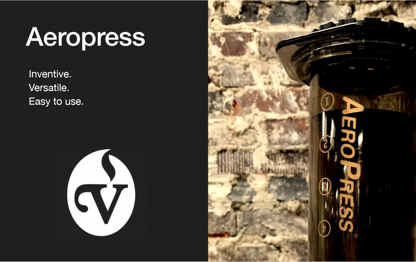 Aeropress - The Aeropress is a great brewer for that single cup on the go. It produces a rich, deep cup of coffee that is best suited for light to medium roasted coffees.