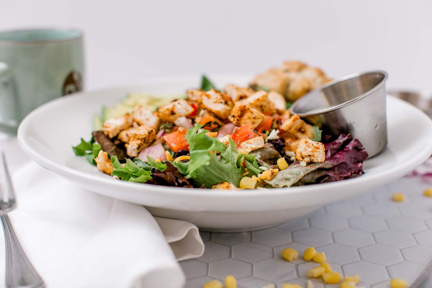 Southwestern Blackened Chicken Salad