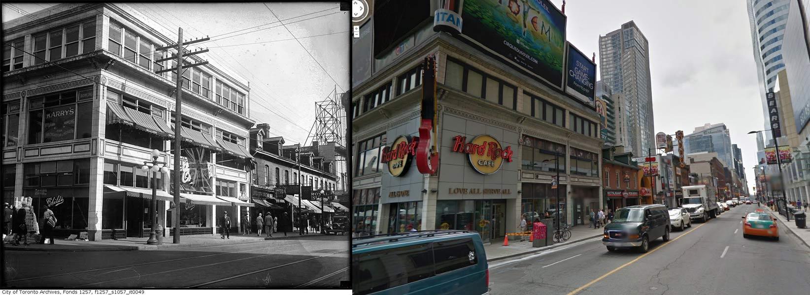Yonge Street @ Dundas Square Toronto