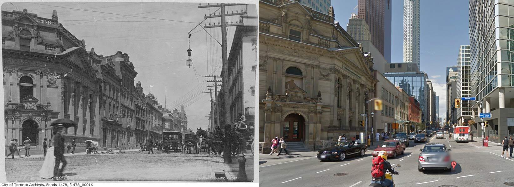 Yonge Street and Front Street Toronto