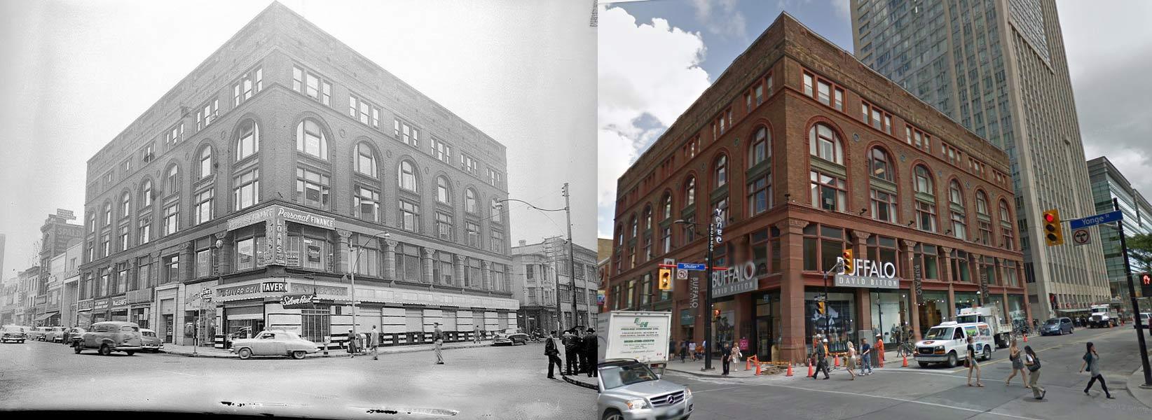 Yonge Street and Shuter Street Toronto