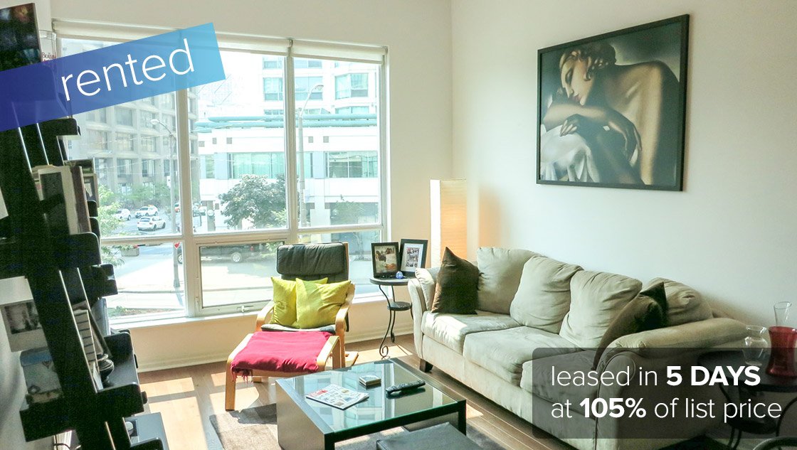 16 Yonge Street #210 Toronto - Downtown / Waterfront Community   LEASED: $1700 /month
