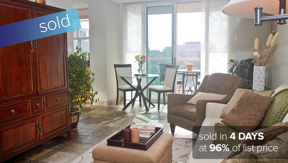 323 Richmond St East Toronto  SOLD: $400,000