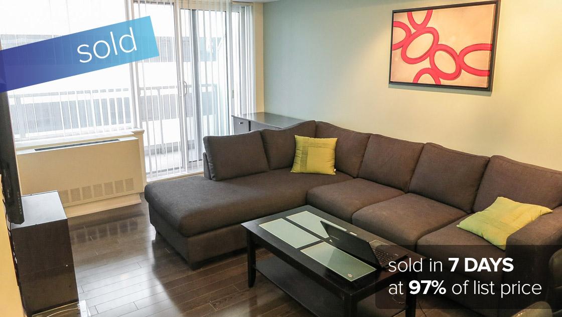 4968 Yonge Street #1511 Toronto - North York   SOLD: $280,000