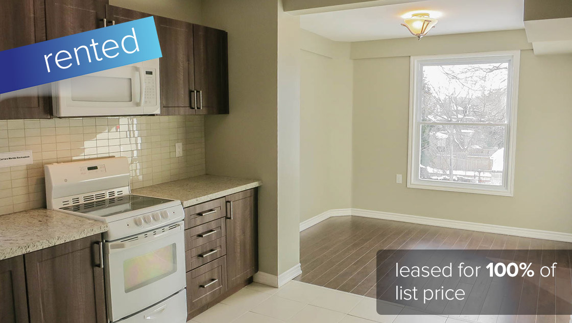 152 Indian Road #3 Toronto - Roncesvalles Village (1 Bedroom 2nd Floor Apartment)  LEASED: $1400/month (100% of asking price)