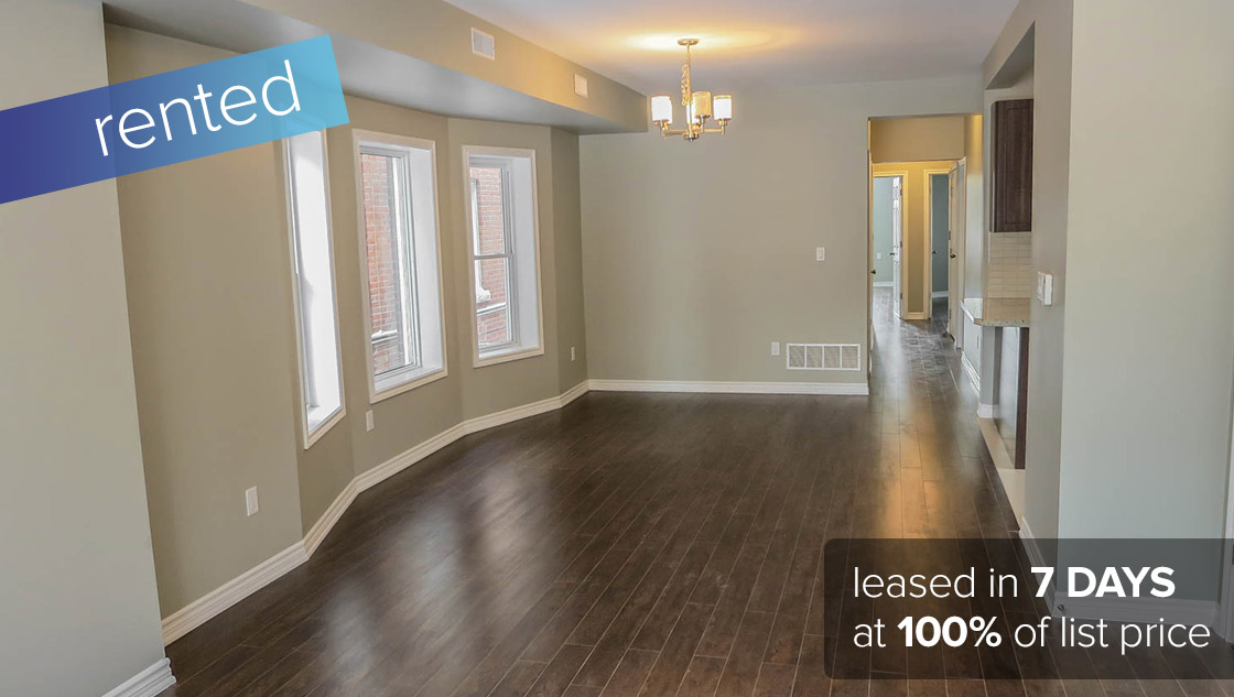 1 52 Indian Road #2 Toronto - Roncesvalles Village (3 Bedroom 1st Floor Apartment) LEASED: $2800/month (100% of asking price)