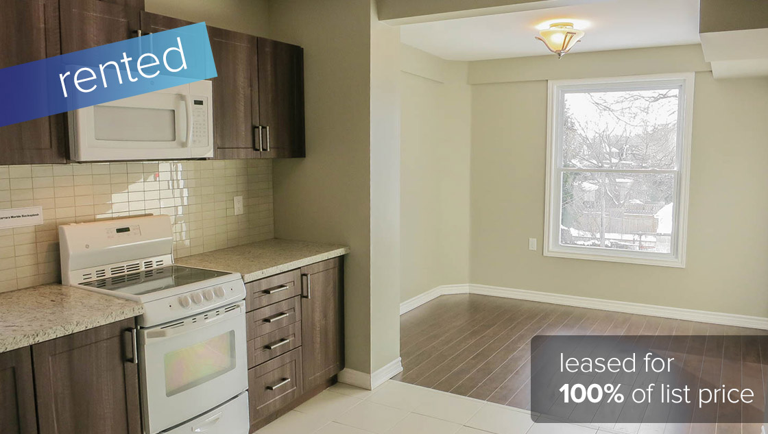 152 Indian Road #3 Toronto - Roncesvalles Village (1 Bedroom 2nd Floor Apartment)  RENTED: $1500/month (100% of listing price)