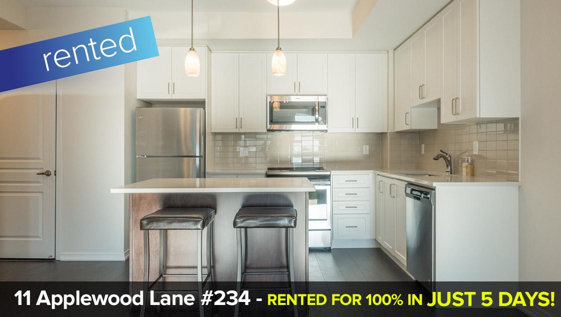 11 Applewood Lane - Westmall Etobioke W08 - 3 Bedroom + Underground Parking  LEASED: 100% of List Price in 5 Days!