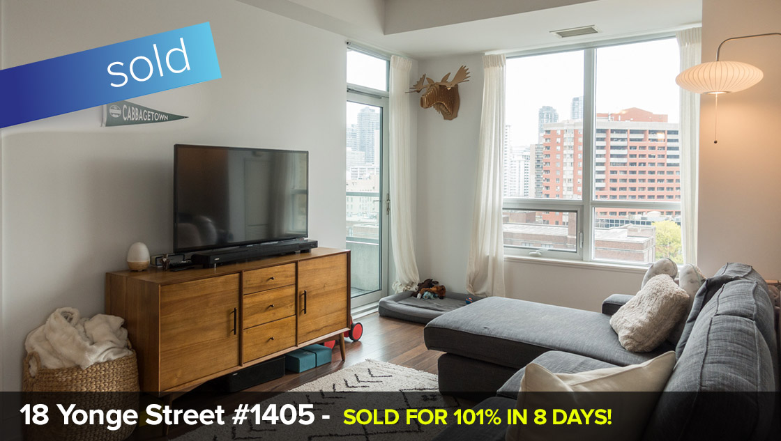 120 Homewood Ave #901 - The Verve - Jarvis/Wellesley - 2 Bedroom w/Parking + Locker  SOLD FOR 101% OVER LIST PRICE IN JUST 8 DAYS!