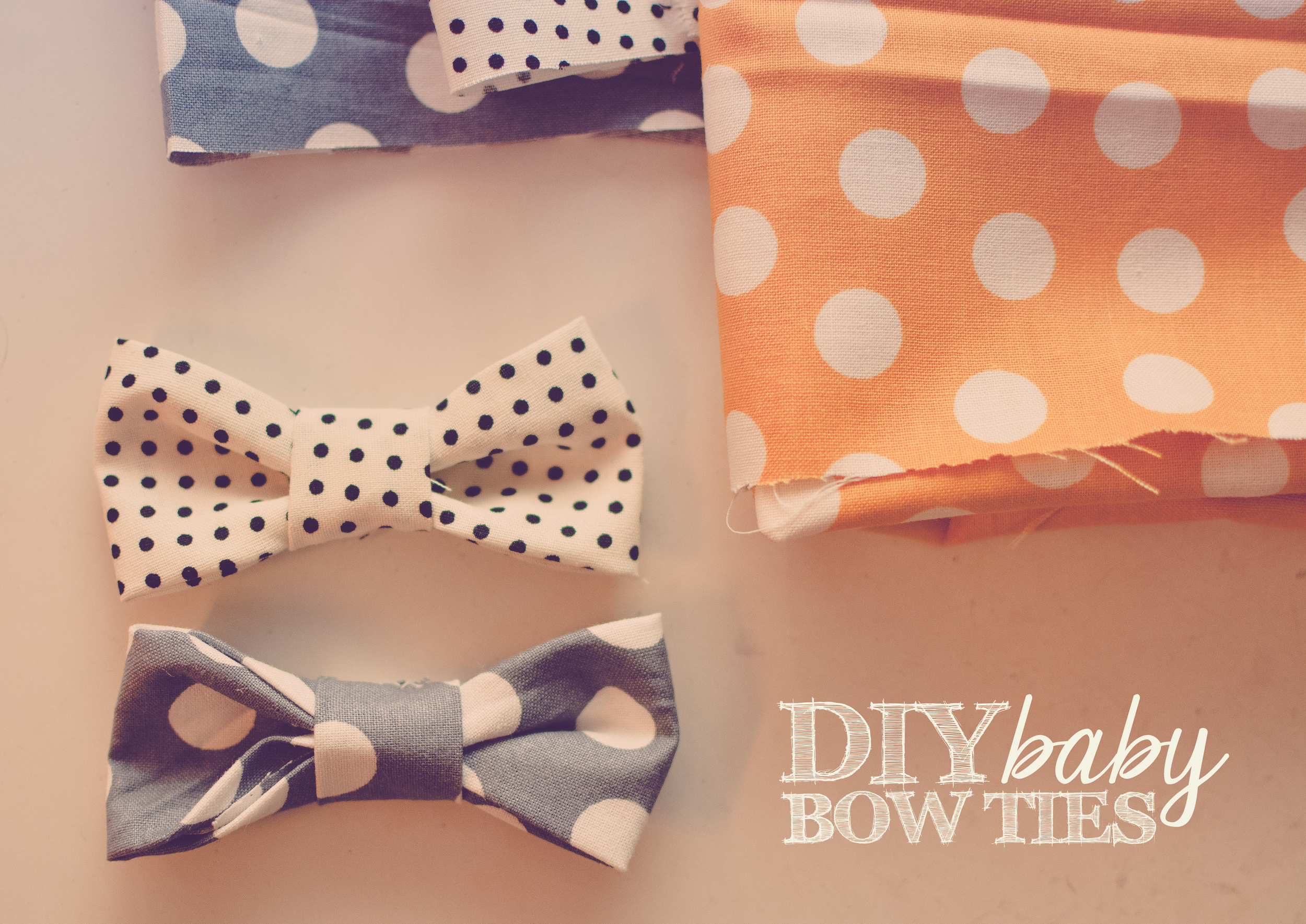 I have some newborn sessions coming up, and I thought it would be fun to make some little bow ties for the boys! These were super easy, so I thought I'd post a tutorial. I made these with boys in mind, but you could also attach them to headbands or hair clips for girls.