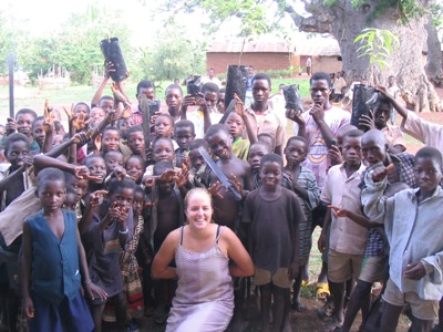 Laraine with her Agricultural Development group