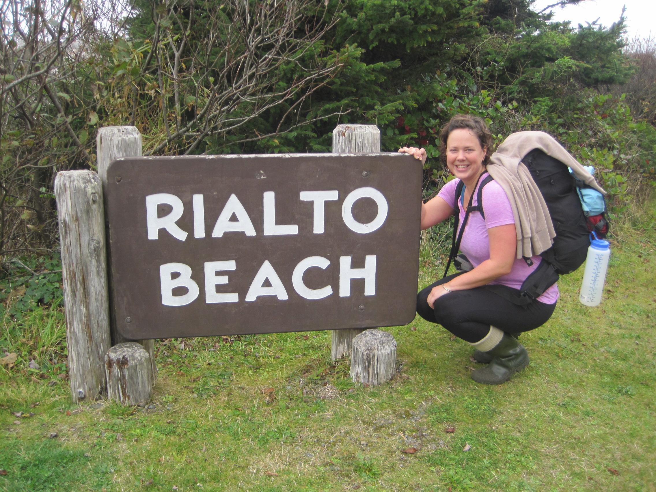 Sara at Olympic National Park in Washington state.