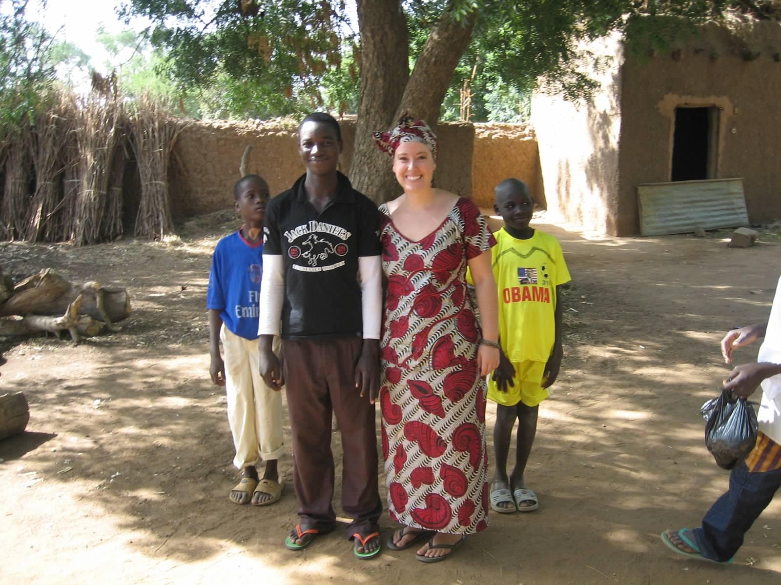 In Niger in 2011