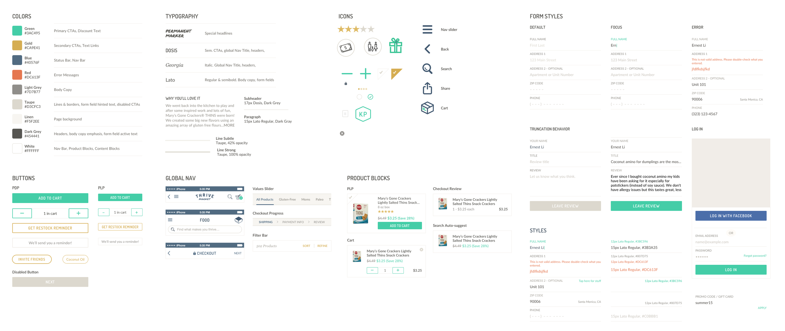 Version 1.0 of the Thrive Design System
