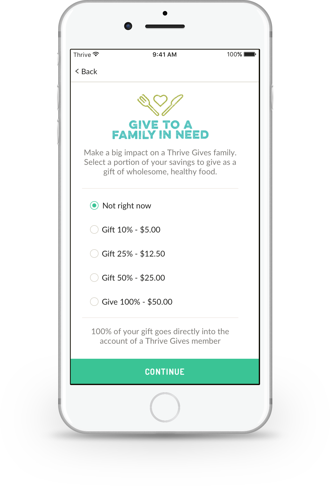 Donate at Checkout