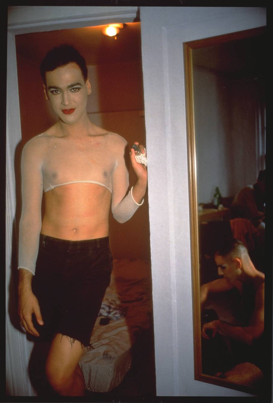 Nan Goldin  |   Jimmy Paulette and Tabboo! undressing, NYC 1991