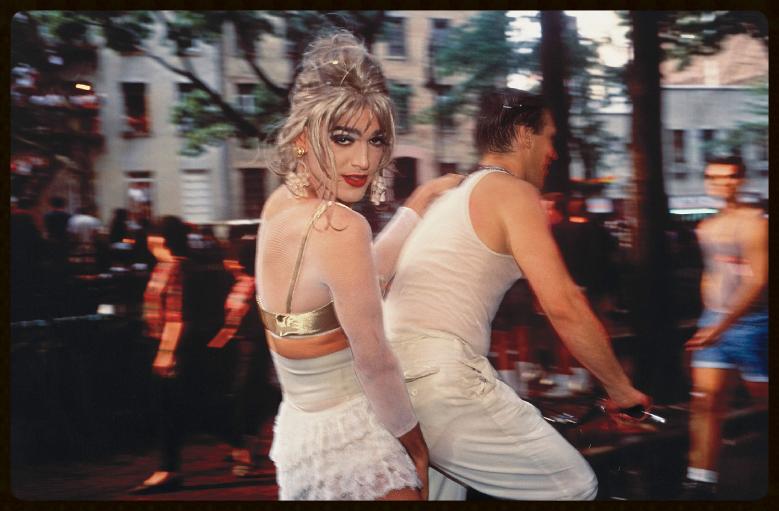 Nan Goldin | Jimmy Paulette on David's Bike, NYC , 1991
