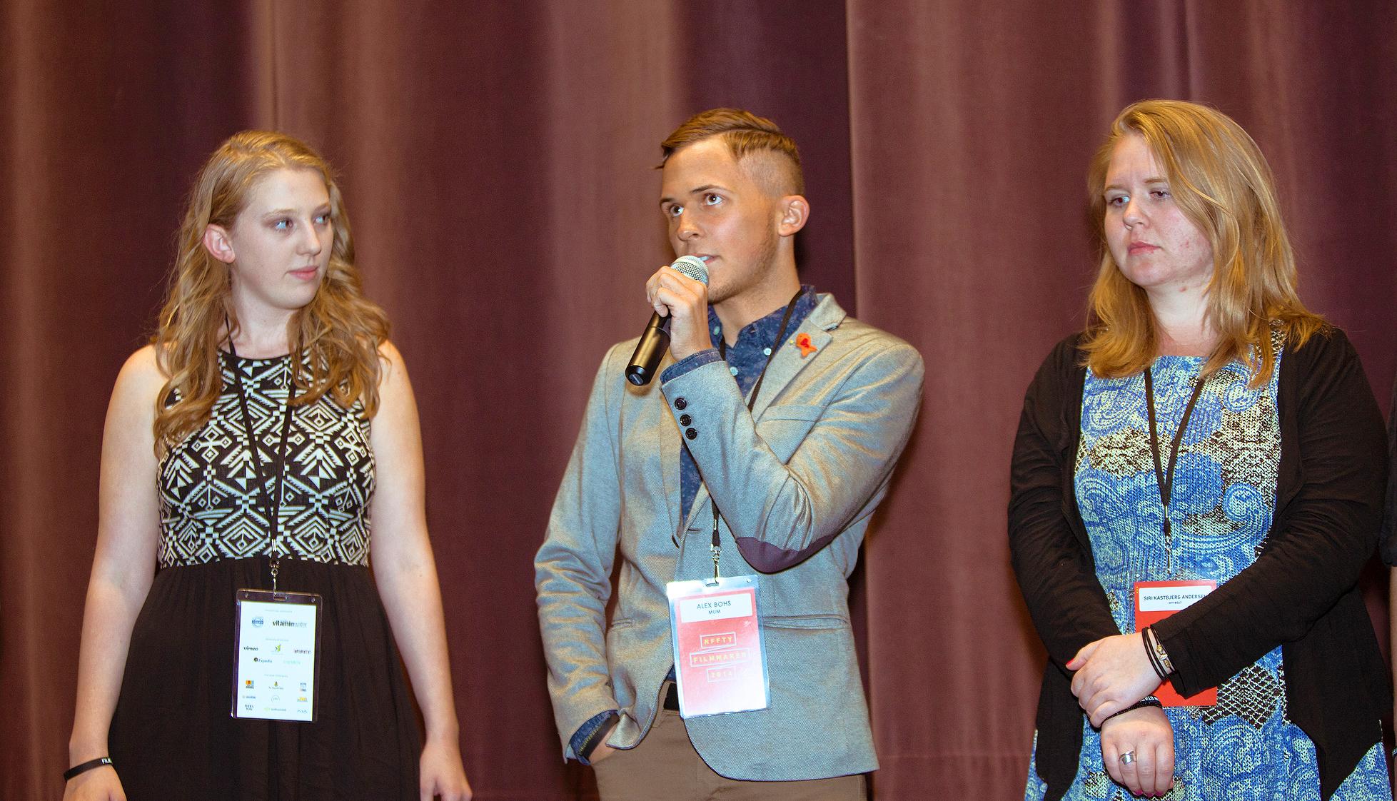 NFFTY 2014 Opening Night Q&A (Photo ©  Mark Malijan)