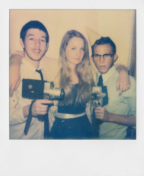 Behind the scenes Polaroid with DP, Dustin Supencheck and Production Designer, Amanda Brinton.