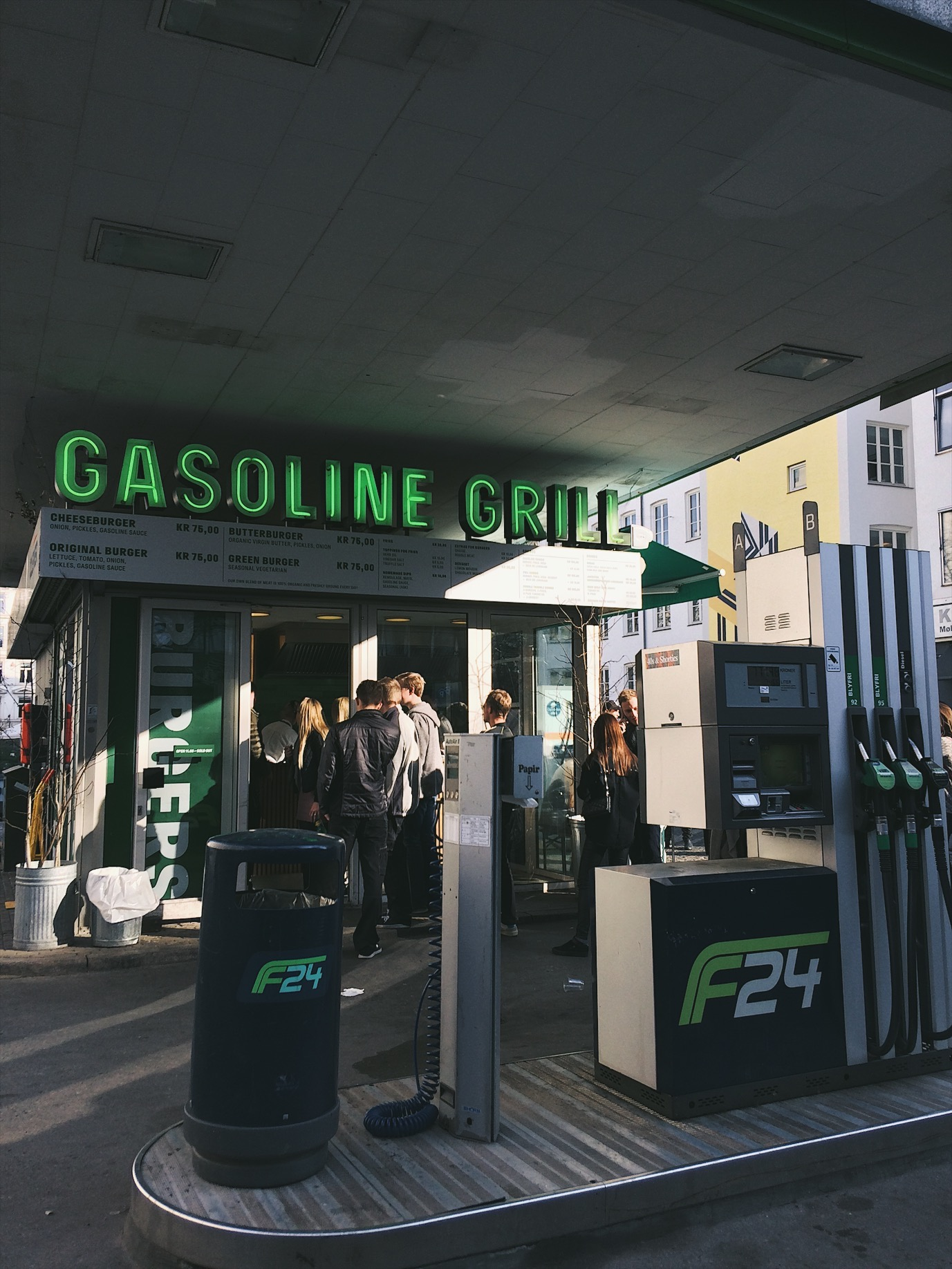 5. EAT |GASOLINE GRILL
