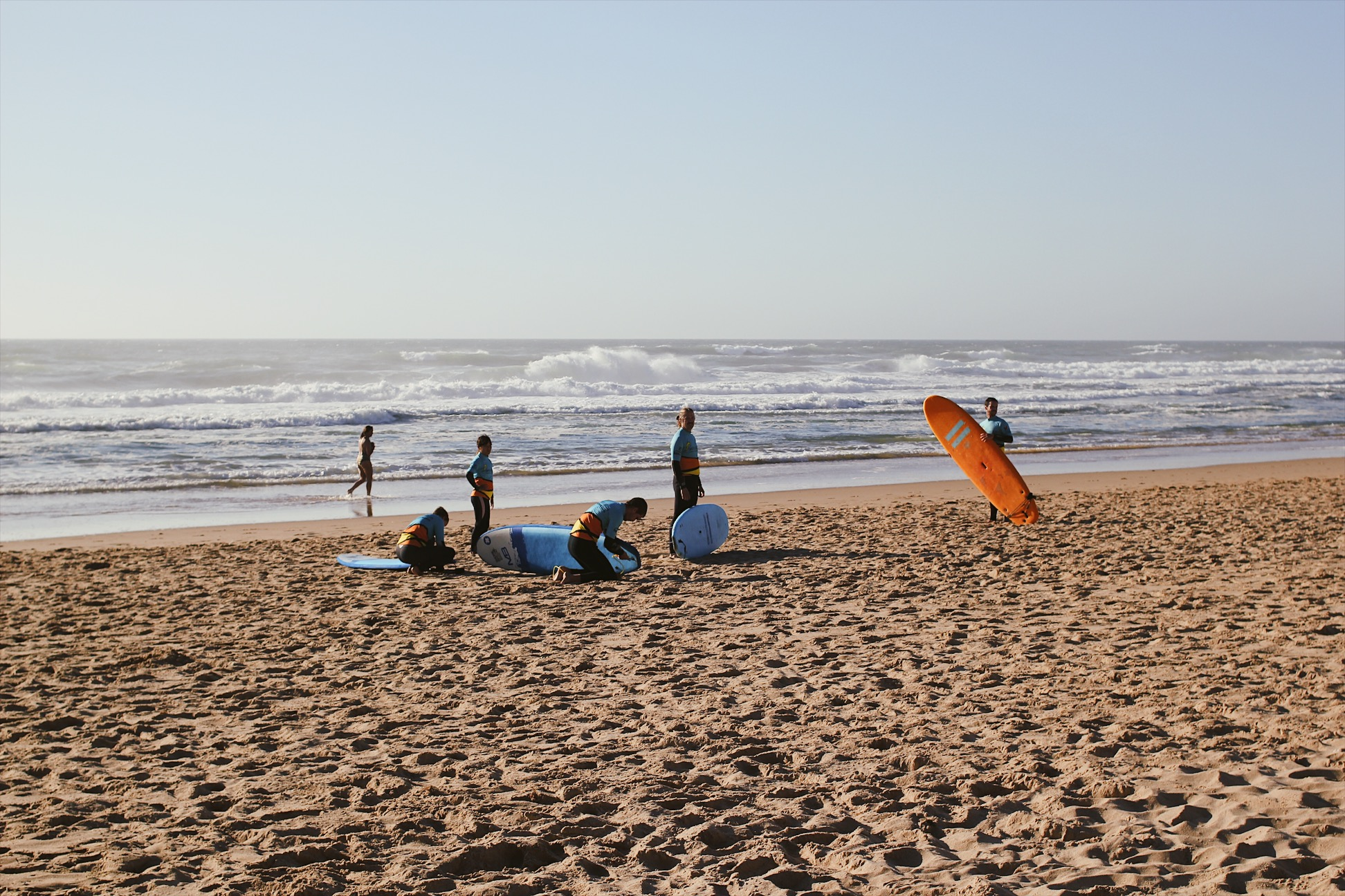 Let's go surfing! Portugal is known for it's waves, but prepare for the water being colder that you can imagine. Even on the hottest of days the temperature rarely goes above 20°C. Brrr…